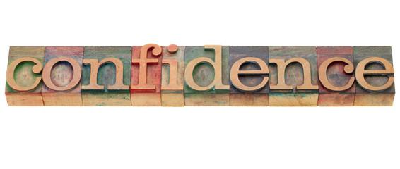 confidence word