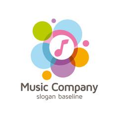 musique, logo d'entreprise, music logo