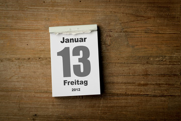 Freitag der 13 Januar 2012