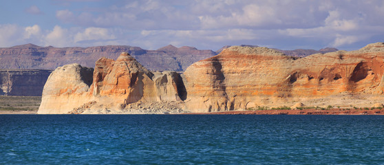scenic Lake Powell landscape