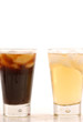 Vietnamese iced tea and coffee