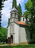 Church of Holy Dimitrij, Podgorica, Montenegro poster