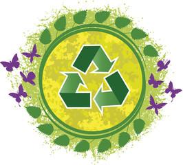 Ilustração recicle