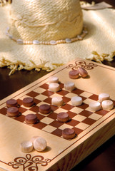 The Wooden Checkers