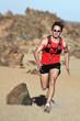 Runner man running