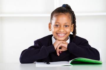 happy primary student