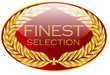 button finest selection gold rot glossy