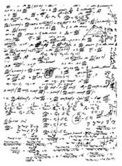 math symbols and texts