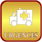 bouton urgences poster