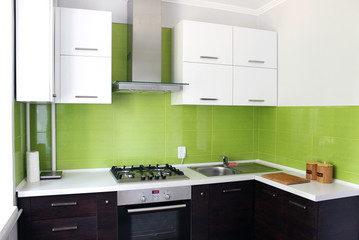 modern domestic Kitchen interior