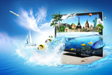 Fototapety 3D TV - world in your home