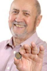 homme argent