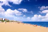 Beaches, coast in Spain .