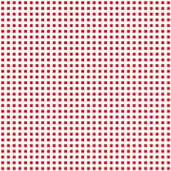 Rote Quadrate auf weißem Hintergrund