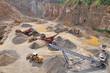Stone quarry work - 34163723