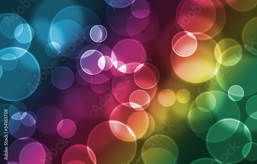 Abstract toning bokeh background