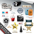 Cinema Design Elements and Icons