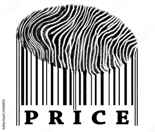 Price on barcode