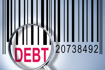 Debt on barcode