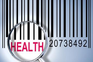 Health on barcode