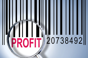 Profit on barcode