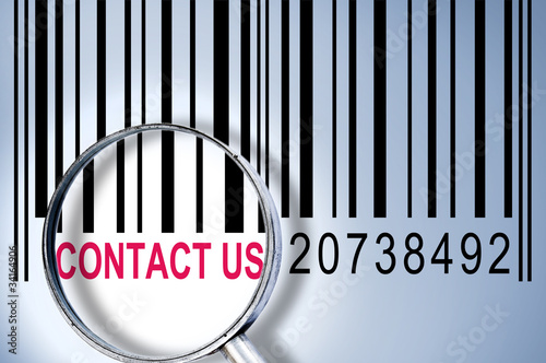 Contact us on barcode