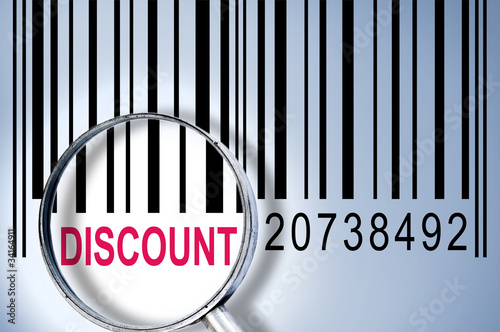 Discount on barcode