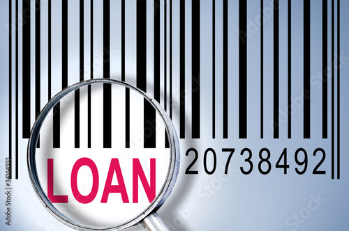Loan on barcode