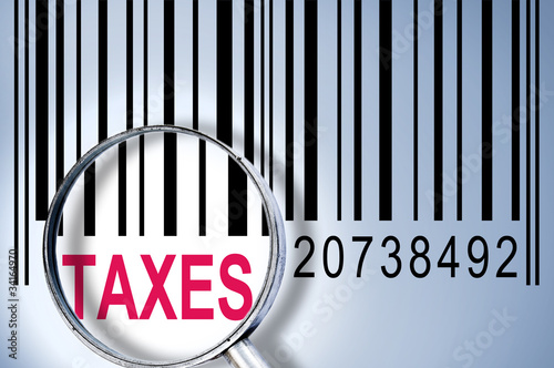 Taxes on barcode