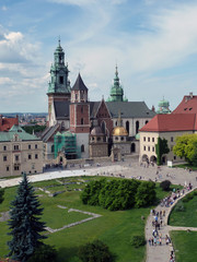 View of Krakow Cathedral