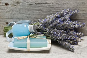 Lavender, and hygiene items.