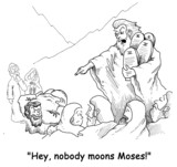 moses moon poster