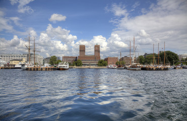 Oslo from the sea (HDR)