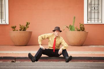 Businessman On Street