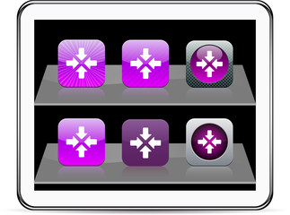 Click here purple app icons.