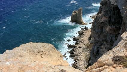 Faraglioni da 135m - Lampedusa, Italy