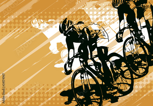 bicycle racing - 34174967