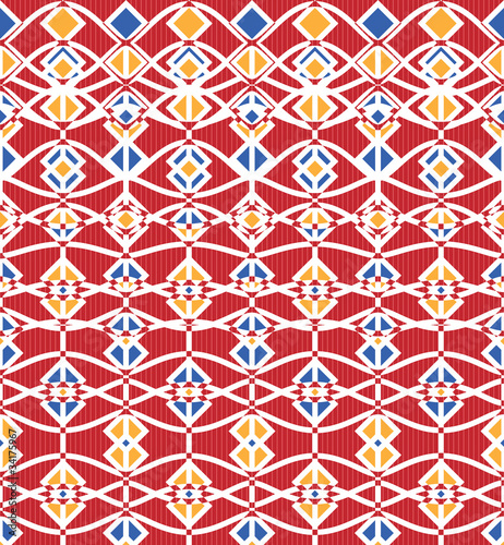 Abstract fence (horizontal seamless pattern)