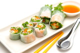 Summer Roll,Southeast Asian Food poster