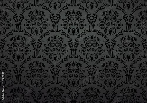 gamesageddon stoff tapete ornament black lizenzfreie fotos vektoren und videos kaufen und. Black Bedroom Furniture Sets. Home Design Ideas