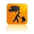 Icône chargement / déchargement camion