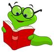 obraz - Book worm