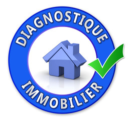 Tampon diagnostique immobilier