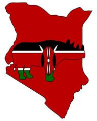 Kenia Spitzmaulnashorn