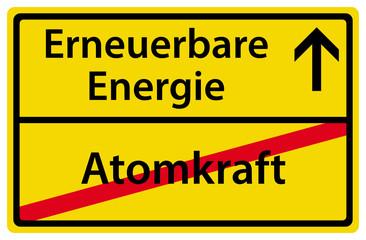 Ausstieg aus der Atomkraft Erneuerbare Energie