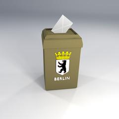 Wahlurne Berlin Wahl