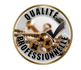 """Label """"qualité professionnelle"""""""