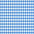 Seamless Pattern Octoberfest White/Blue