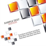 Vector Seamless  Tiles Background