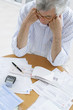 Réglement des factures chez un retraité